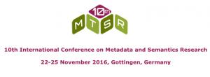 MTSR-2016