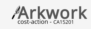 COST Action, COST-ARKWORK CA15201 Training School 2017...
