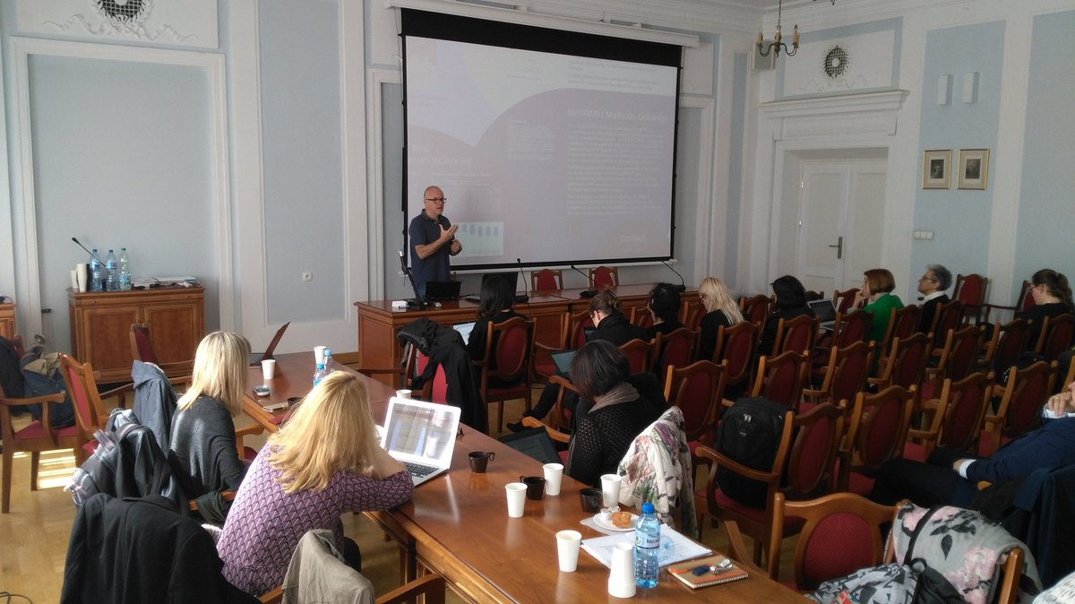 DARIAH Digital Methods and Practices Observatory Working Group (DiMPO) Warsaw Wo...